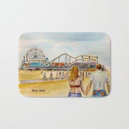 Santa Monica Pier Ferriswheel Bath Mat