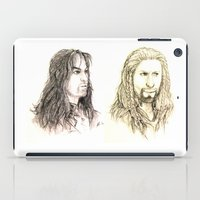 kili iPad Cases featuring Kili and Fili by Zalazny