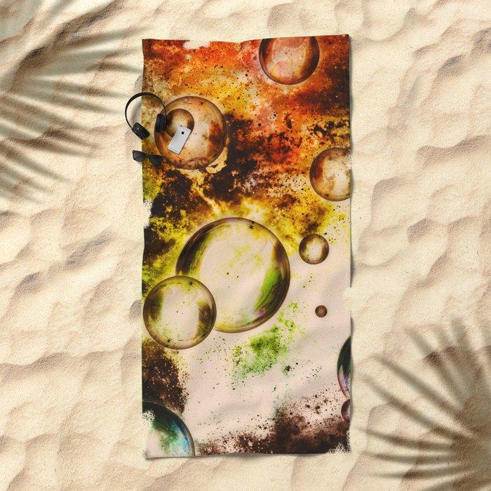 α Lepus III Beach Towel