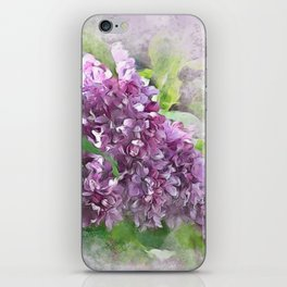 Soft Lilac iPhone Skin