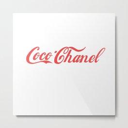 coco cola Metal Print