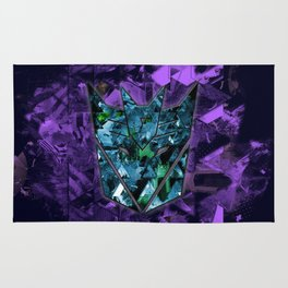 Decepticons Abstractness - Transformers Rug