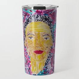 Self Portrait #4 Polished Travel Mug
