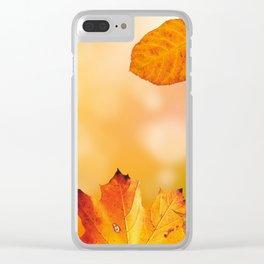 Autumn2 Clear iPhone Case