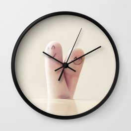 If you'll be my Valentine Wall Clock