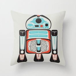 Silver Tenderfoot - Alliance Is Rebellion - R2-D2, wars, star Throw Pillow