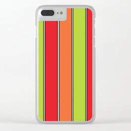 Stripe 3 Clear iPhone Case