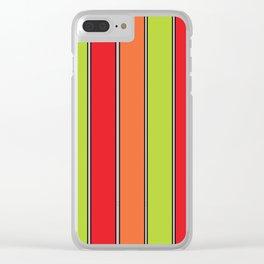 Stripe 3 Clear iPhone Case