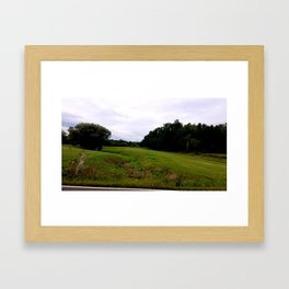 Mill Valley Road Framed Art Print