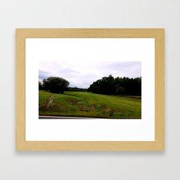 Mill Valley Road Framed Art Print