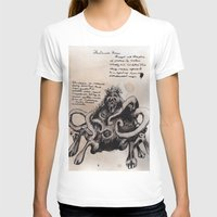 lovecraft T-shirts featuring Lovecraft Series:  Dunwich Horror by Furry Turtle Creations