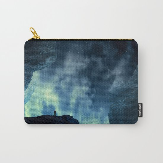 Spaces XVIII - At Night Carry-All Pouch