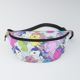 g1 my little pony sea pony collage Fanny Pack