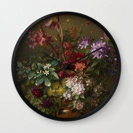 Vintage Botanical No. 2 Wall Clock