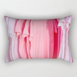PANTONE PINK TEE Rectangular Pillow