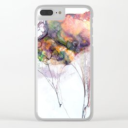 Fossils 55 Clear iPhone Case