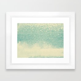 sea VI Framed Art Print