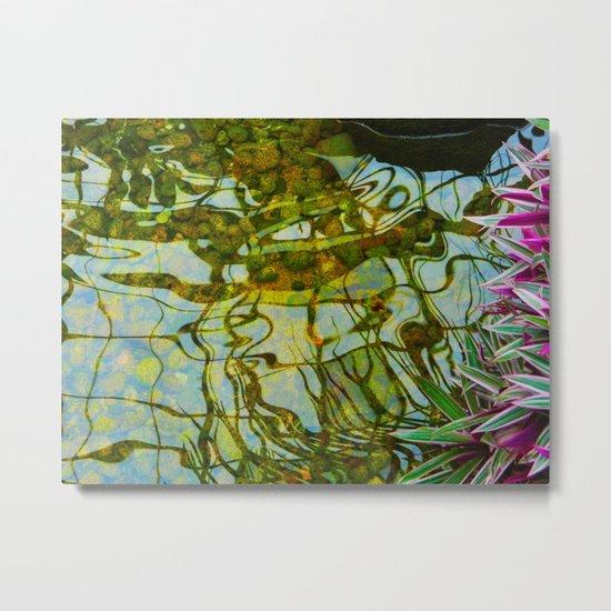 Reflected vision Metal Print