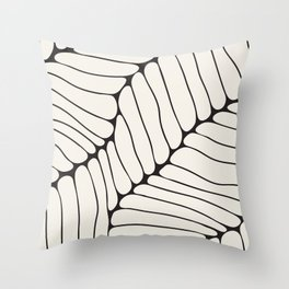 Organic Onion Cell Pattern Throw Pillow