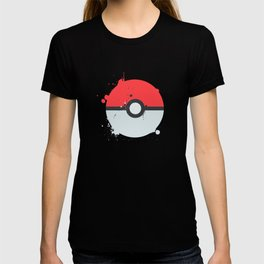 Pokeball Splatter T-shirt
