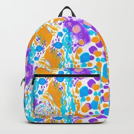 Something blue, purple and gold Backpack