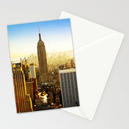 Empire State Building (The City) Stationery Cards