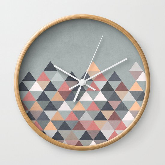 Nordic Combination IV Wall Clock