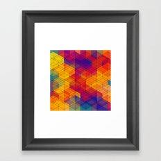 Cuben Intense No.1 Framed Art Print