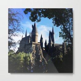 Hogwarts 1 Metal Print
