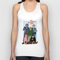 breakfast club Tank Tops featuring The Breakfast Club by Dasha Borisenko
