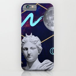 Ancient Gods and Planets: Moon iPhone Case