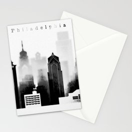 Philadelphia graphic work Stationery Cards