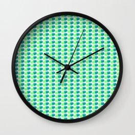 Pill Pattern Wall Clock