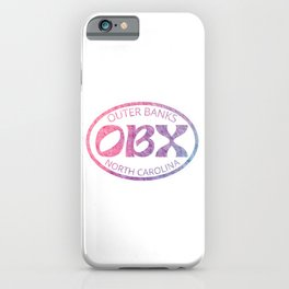 Outer Banks North Carolina OBX Beach Ocean Vacation Gifts iPhone Case