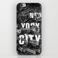 New York City streets iPhone & iPod Skin