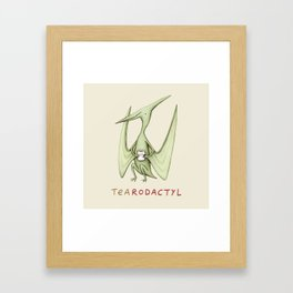 Tearodactyl Framed Art Print