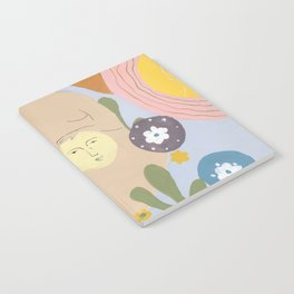 Taking care of the moon Notebook
