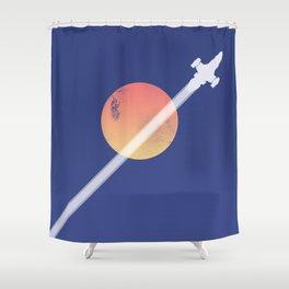 Serenity - Firefly ship Shower Curtain