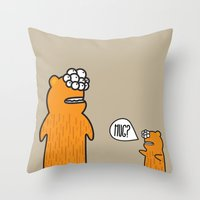 hug Throw Pillows featuring Hug? by JRosas