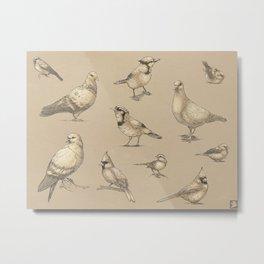 Bird is the Word Metal Print
