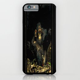 Primate Models: Monkey Laze 01-01 iPhone Case