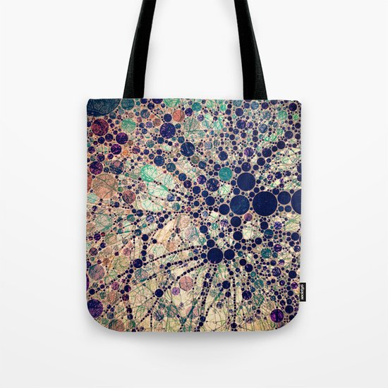 Colorful tree loves you and me. Tote Bag