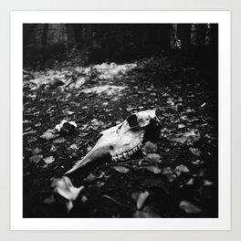 bones of Chernobyl Art Print