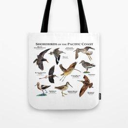 Shorebirds of the Pacific Coast Tote Bag