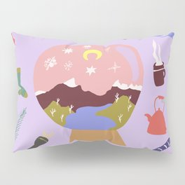 Winter on Cradle Mountain Pillow Sham
