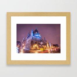 Chapelle Notre-Dame-de-Bon-Secours Framed Art Print