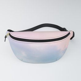 Pastel Sky Dream #1 #decor #art #society6 Fanny Pack