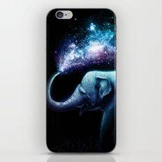Elephant Splash iPhone Skin
