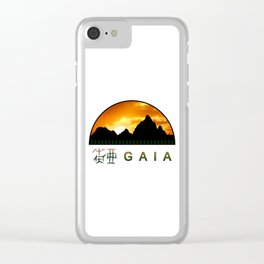 Gaia - Version 1 Clear iPhone Case