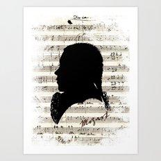 Mozart - Dies Irae Art Print